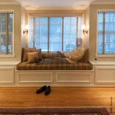 Transitional Bedroom by MK Shaefer