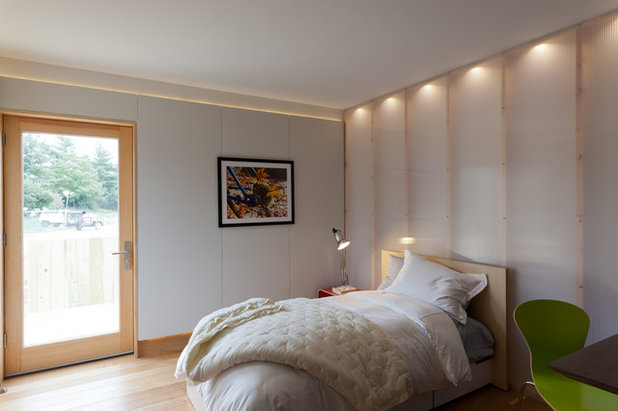 Contemporary Bedroom by solarhomestead.appstate.edu