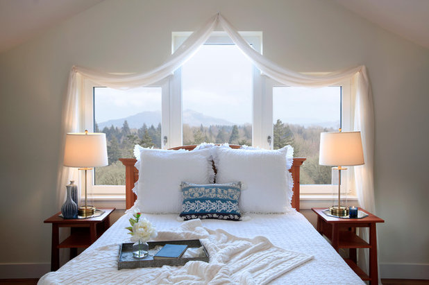 Transitional Bedroom by G. Christianson Construction, Inc.