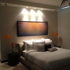 Modern Bedroom by D&L wall design and painting corp