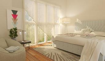 Pastel Bedroom 3D render