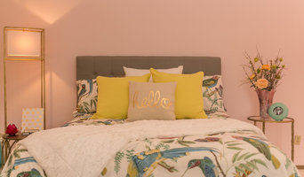 Pastel Pink Guest Room