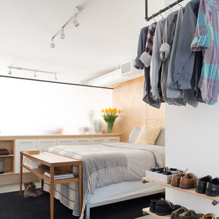 Hanging Clothes Rack Bedroom Ideas And Photos Houzz