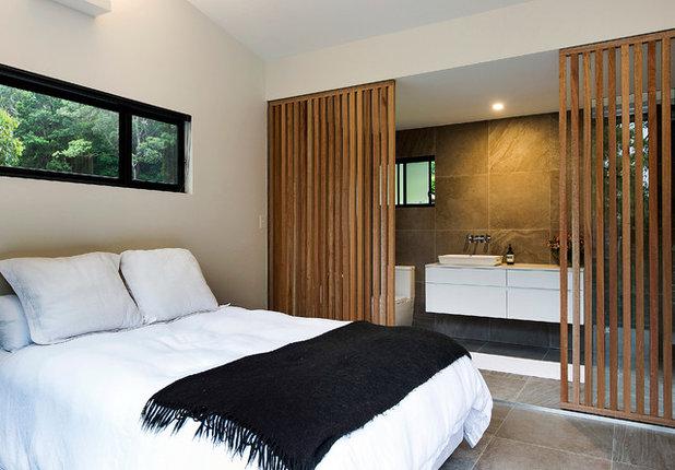 13 fa ons originales de s parer la chambre de la salle de bains. Black Bedroom Furniture Sets. Home Design Ideas