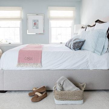 Peaceful Blue Master Bedroom