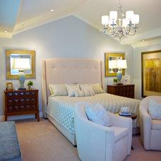 Traditional Bedroom by van zee design interiors