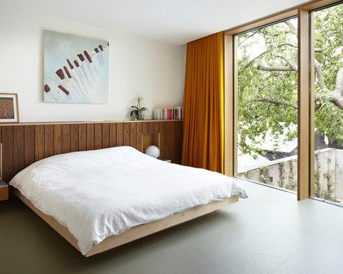 best london bedroom with lino flooring design ideas remodel pictures houzz. Black Bedroom Furniture Sets. Home Design Ideas