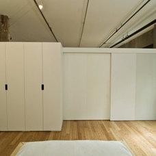 Modern Bedroom by SBaird Design
