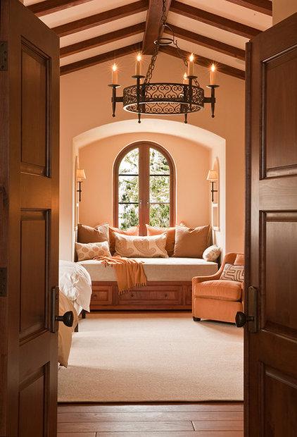 Mediterranean Bedroom by Williams Design Associates