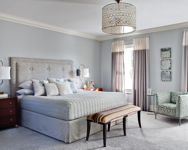 Contemporary Bedroom by Karen Houghton Interiors