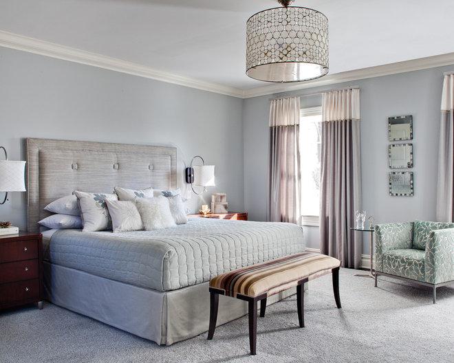 Contemporary Bedroom by Karen Houghton Interiors