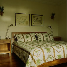 Tropical Bedroom by By Design ltd.