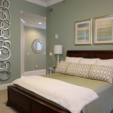 Traditional Bedroom by Penny Bowen Designs