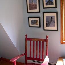 Traditional Bedroom Penobscot Bay Cottage