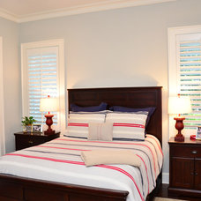 Traditional Bedroom by Sprague Construction