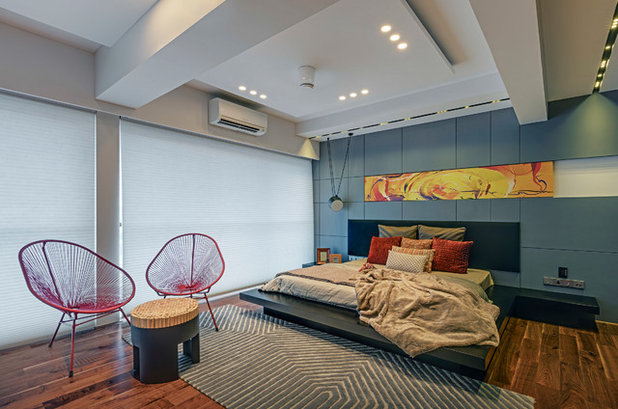 Contemporary Bedroom by AVN Interiors