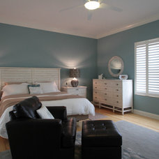 Beach Style Bedroom by J. S. Perry & Co., Inc.
