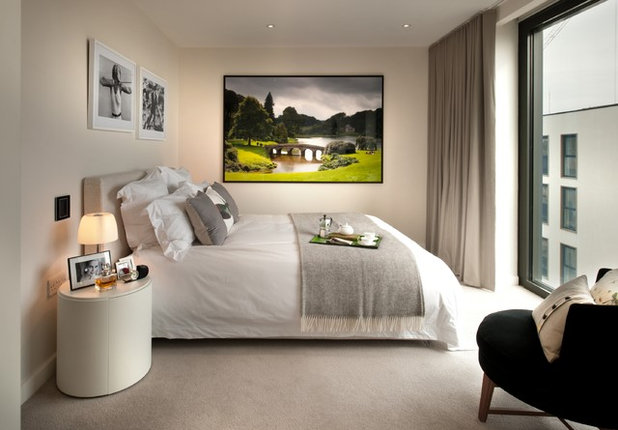 Contemporary Bedroom by TG-Studio