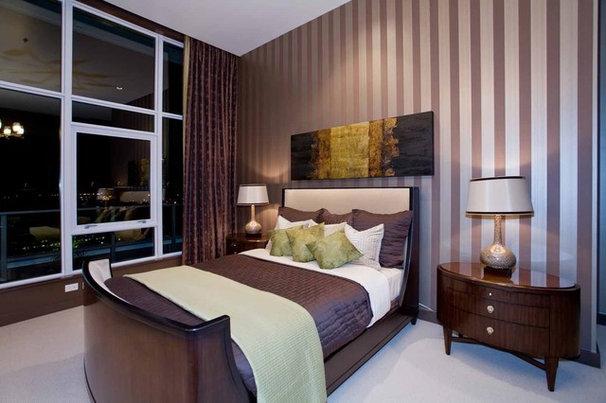Contemporary Bedroom by Angela Todd Designs, Portland, OR