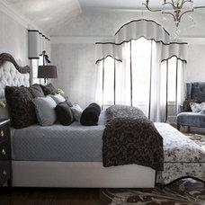 Traditional Bedroom by Debra Geller Interior Design