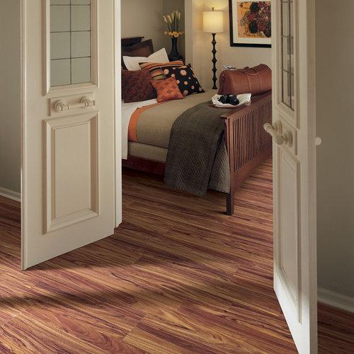 Laminate Flooring Bedroom: Pergo Max Burnished Fruitwood