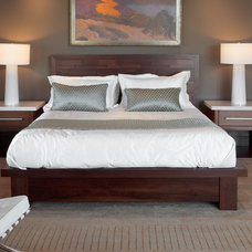 Contemporary Bedroom by Barton Woodworks