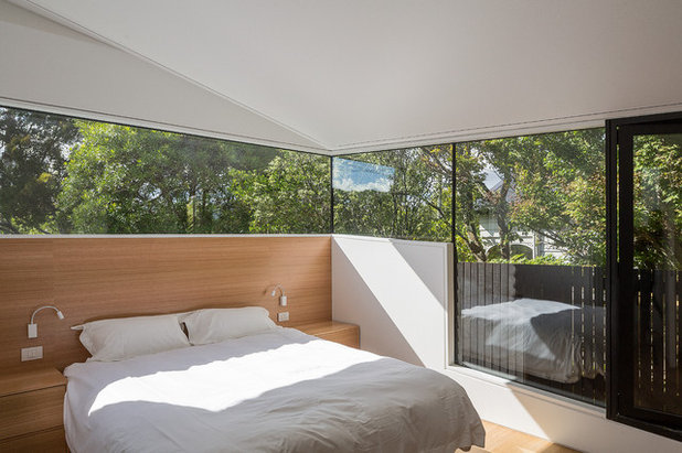 Modern Bedroom by WHAT_architecture