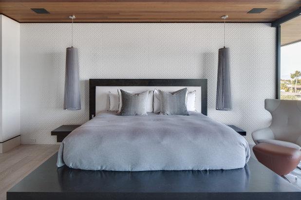 Modern Schlafzimmer by Brandon Architects, Inc.