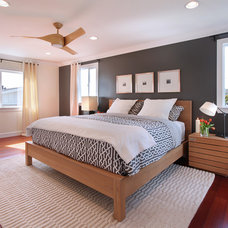 modern bedroom by Jeri Koegel Photography