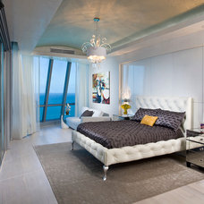 Contemporary Bedroom by Pfuner Design - Interior Design Miami