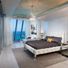 Contemporary Bedroom by Pfuner Design - Interior Design Miami