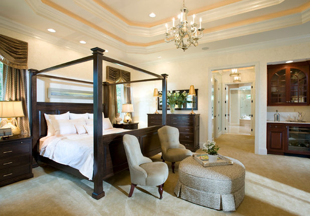 Traditional Bedroom by Guidi Homes