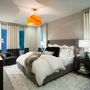 Minimalist bedroom photo in Philadelphia
