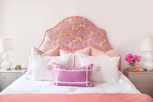 Eclectic Bedroom by Caitlin Wilson Design