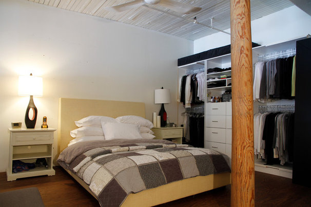 Industrial Bedroom by Esther Hershcovich