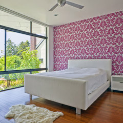 contemporary bedroom by Logan's Hammer Building & Renovation