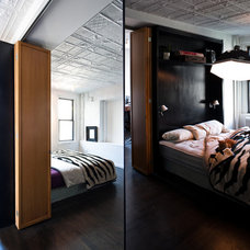Bedroom by Michael K Chen Architecture