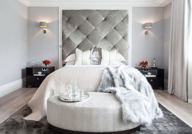 Contemporary Bedroom by Adelina Iliev Photography