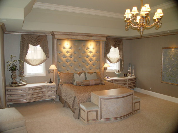 Traditional Bedroom by B. W. Interiors Chicago