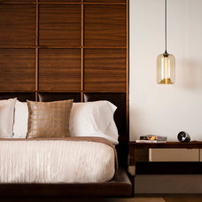 Contemporary Bedroom by William MacCollum Architectural Photography