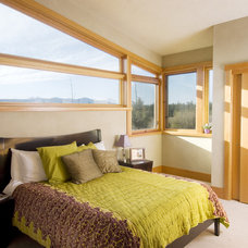 Contemporary Bedroom by Christian Gladu Design