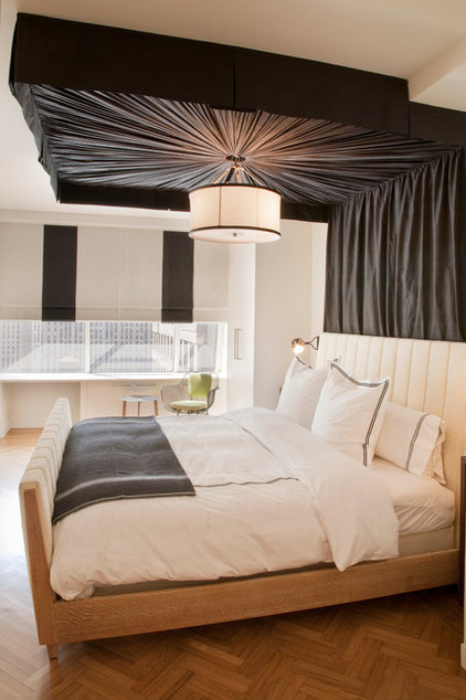Rustic Bedroom by Lily Z Design Inc.