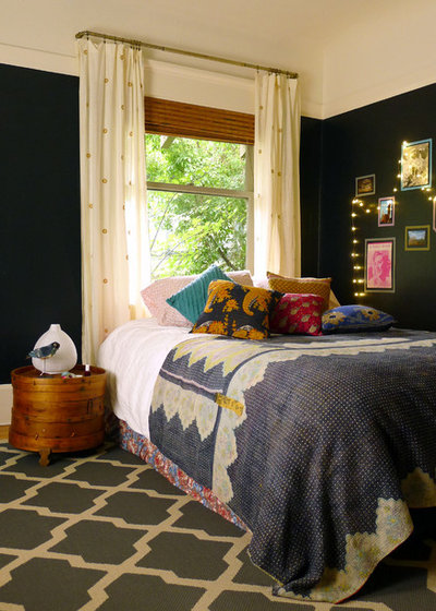 Eclectic Bedroom by Coombs Design