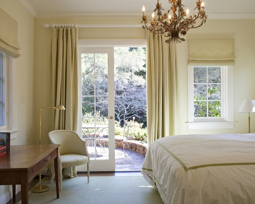 Curtain Over French Door Ideas, Pictures, Remodel and Decor