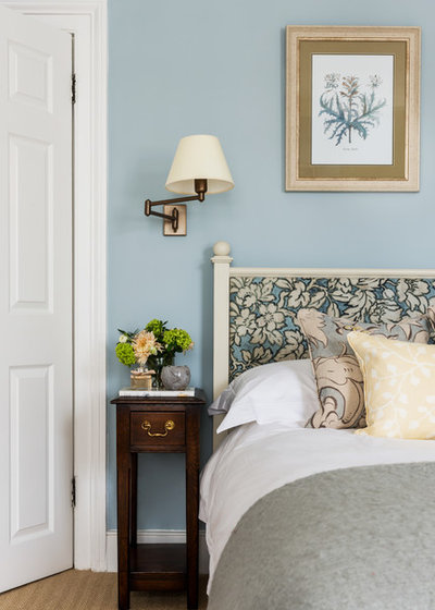 Transitional Bedroom by Lisette Voute Designs