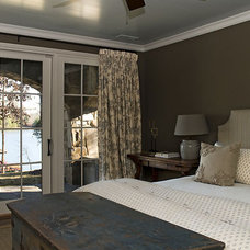 Rustic Bedroom by Wright Design