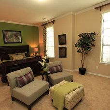 Eclectic Bedroom by BlackMark Design
