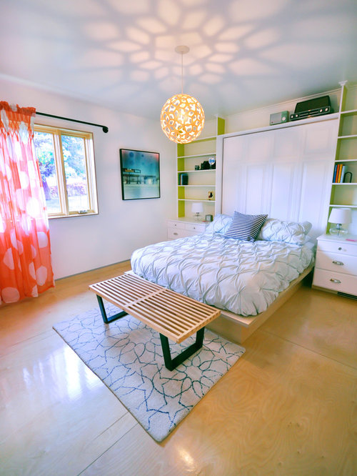 Plywood floor home design ideas pictures remodel and decor for Bedroom designs plywood