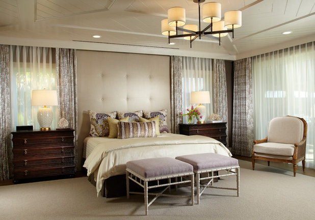 Transitional Bedroom by Straticon