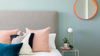 Pink & Blue Bedroom